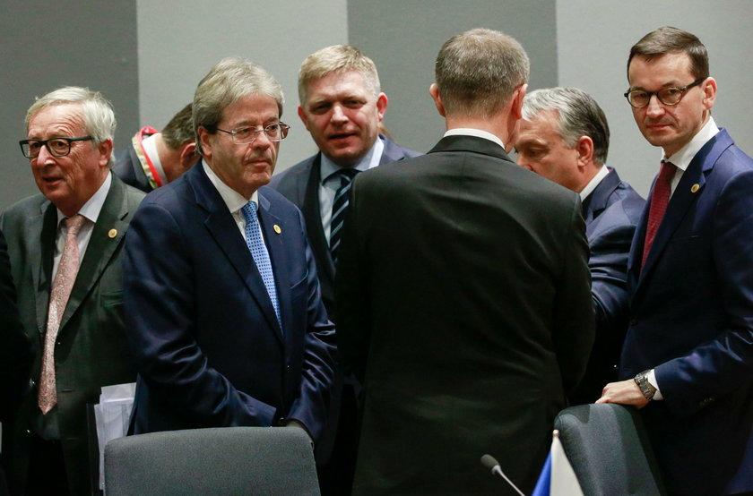Morawiecki w Brukseli.
