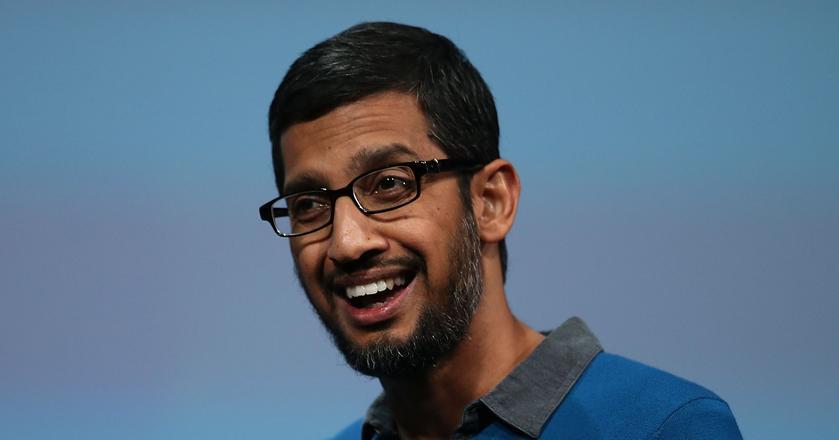 Sundari Pichai, prezes Google, spółki należącej do holdingu Alphabet