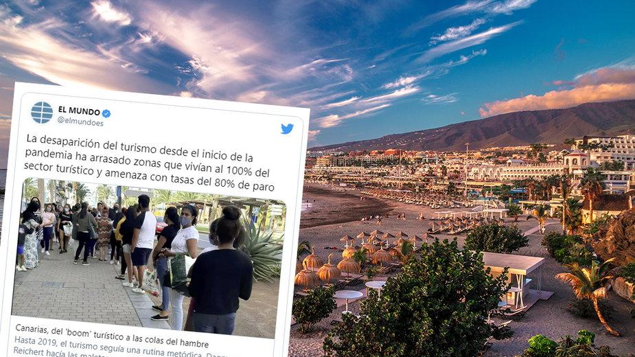 Koronawirus: Hiszpania. Turystyczne regiony biednieją