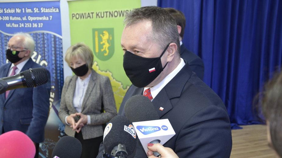 Łódzki Kurator Oświaty w powiecie kutnowksim