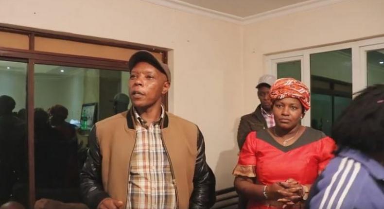 Former Mungiki leader Maina Njenga warns Rift Valley politicians after meeting at Rachael Shebesh's home