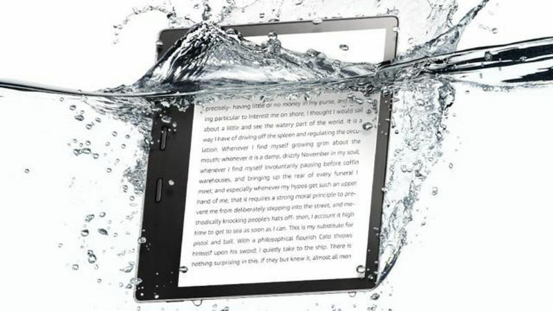 Oasis pierwszym wodoodpornym modelem Kindle