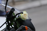Ruža na motoru