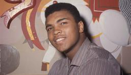 Muhammad Ali in March 1964.