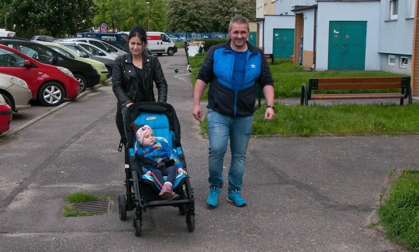 Weronika i jej rodzice