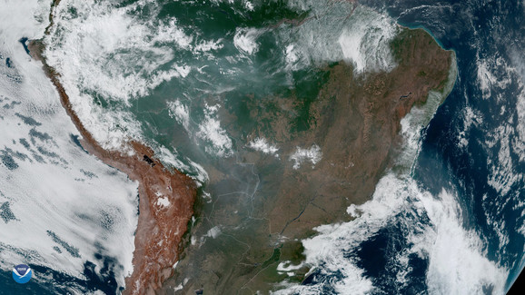 Amazonija, Amazon, Brazil, požari