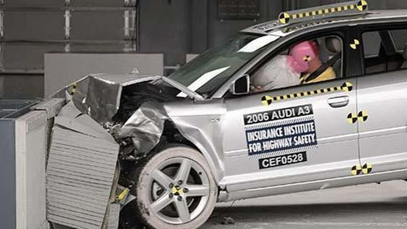 Crash test IIHS