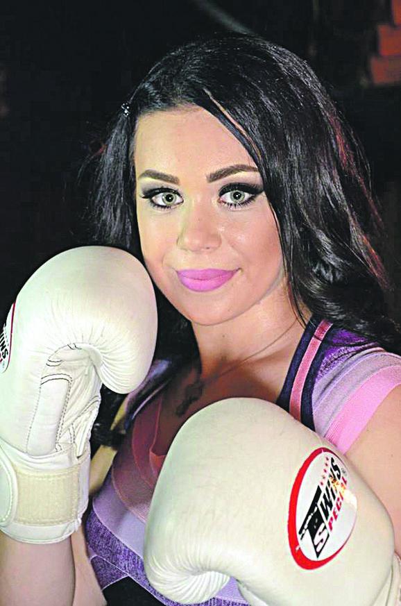 Nina Pavlović,  vicešampionka Evrope u kik-boksu