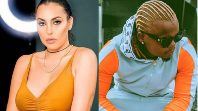 Harmonize's wife Sarah reacts after he revealed firstborn daughter with another woman