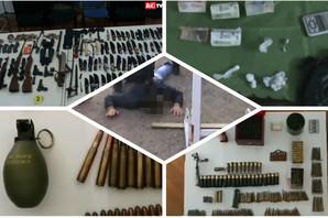 PADAJU DILERI ŠIROM ZEMLJE Uhapšena 21 osoba, zaplenjeno 24 kilograma DROGE i 17 pušaka (FOTO)