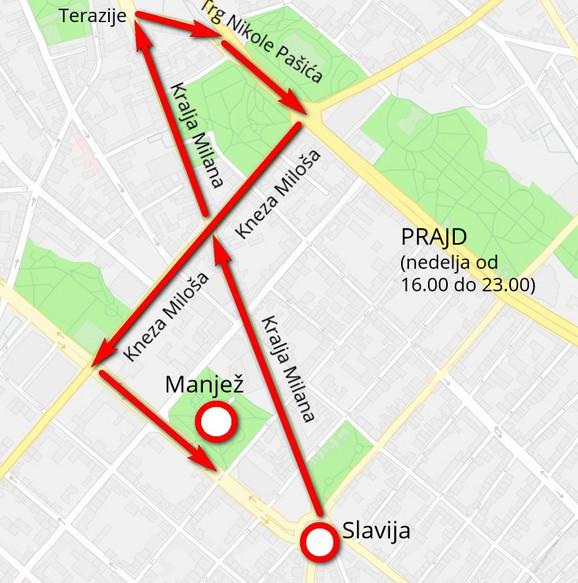 Trasa Prajda 2019.