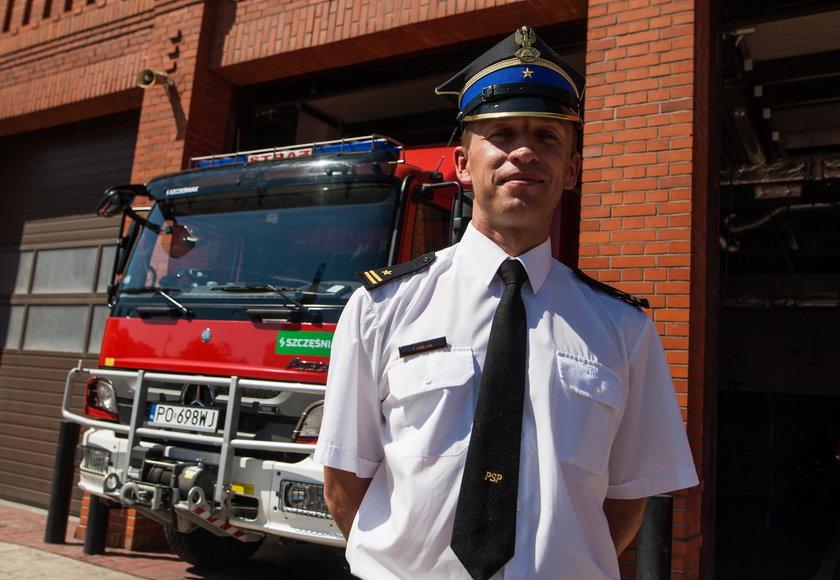 Nasi strażacy bohaterami w Szwecji
