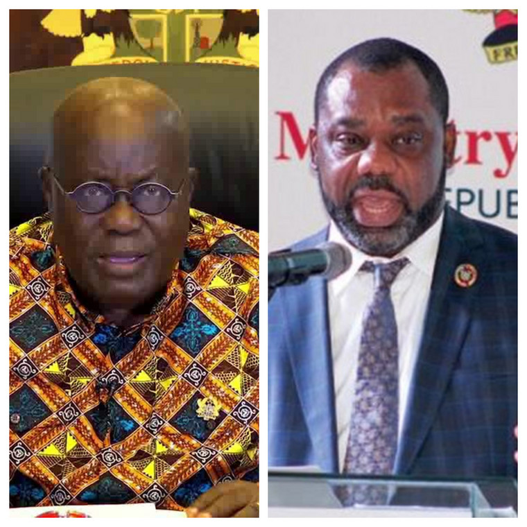 Nana Addo and Matthew Opoku Prempeh