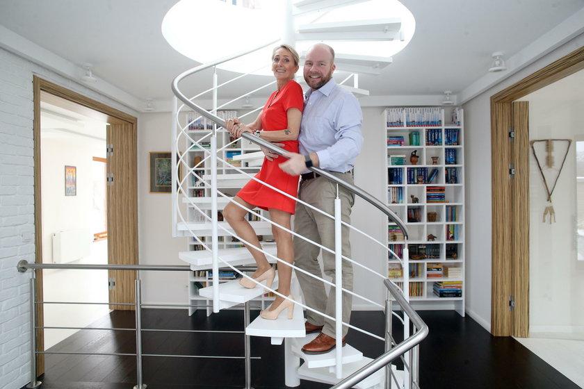Beata Pawlikowska  i Danny Murdock