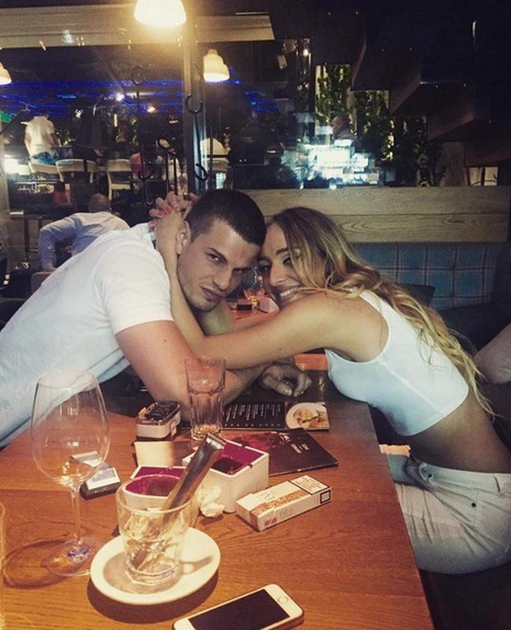 Luna Đogani i Srđan Sarić