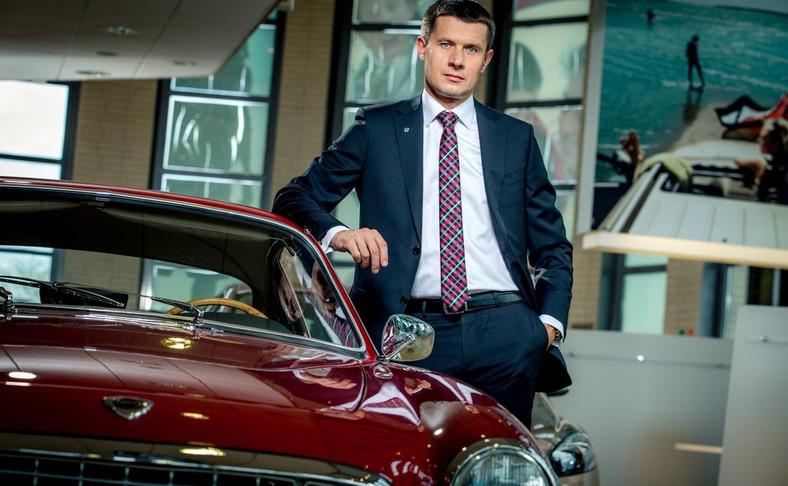 Arkadiusz Nowiński, prezes Volvo Car Poland