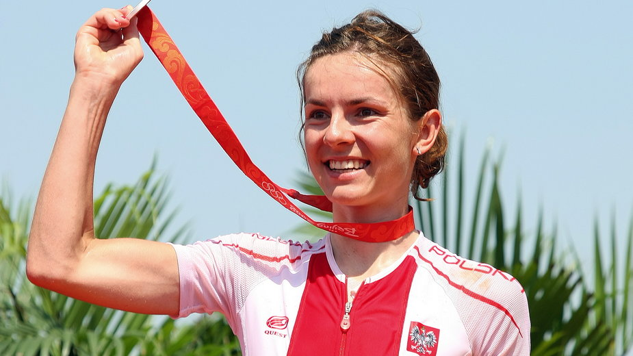 Maja Włoszczowska jest wicemistrzynią olimpijską z Pekinu (2008) i Rio de Janeiro (2016).