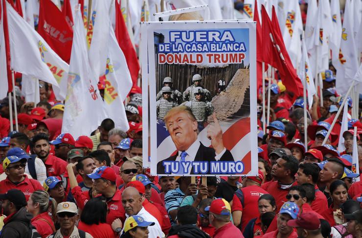 Venecuela, protest