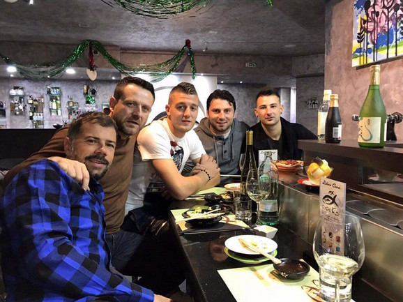 Mateja Kežman, Aleksandar Gruber, Sergej Milinković Savić, Uroš Janković