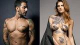 Pokazali pokryte tatuażami ciała