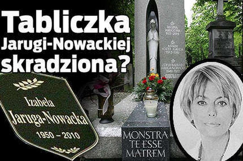 Tabliczka Jarugi-Nowackiej skradziona?
