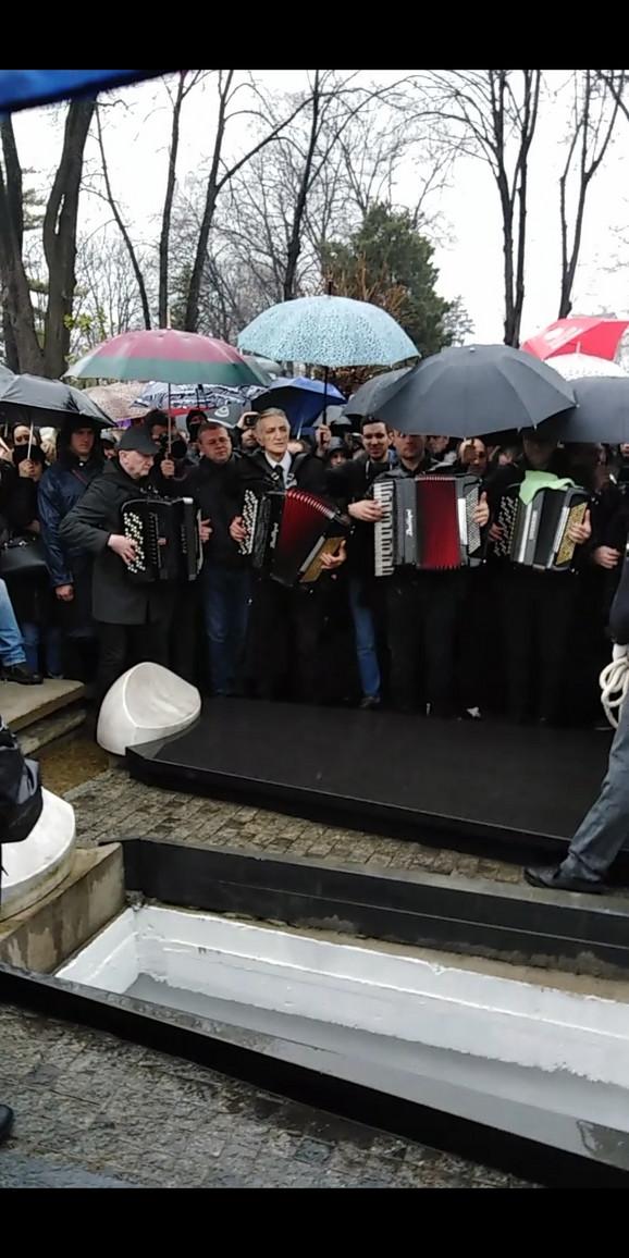 Harmonikaši, sahrana Šabana Šaulića