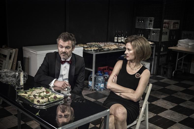 """Iza Kuna, Agnieszka Suchora, Jacek Braciak, Mariusz Jakus, """"Wstyd"""" Teatr Współczesny"""