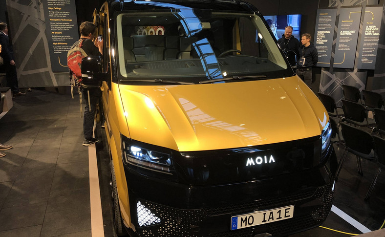 Elektryczny van MOIA. Nowa żyła złota odkryta przez VW?