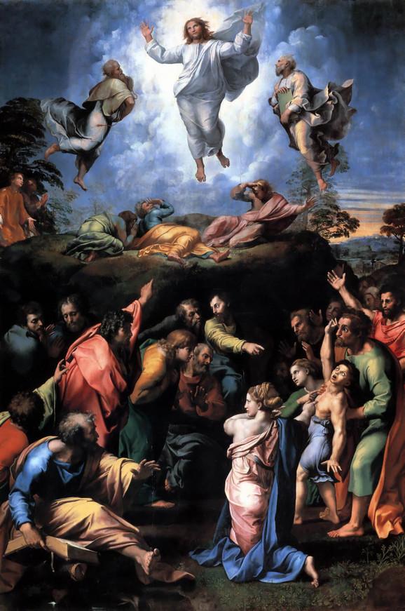 Rafael, Preobraženje, 1520.
