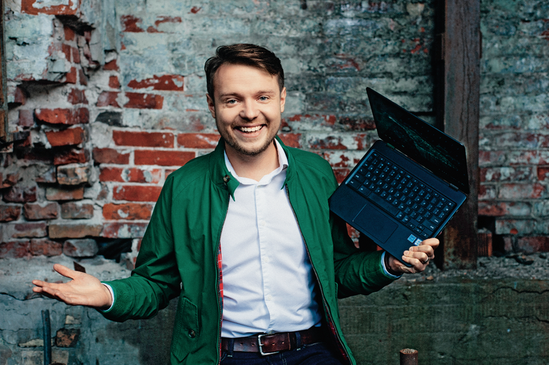 Maciej Michalski, 29 lat - product manager w Google