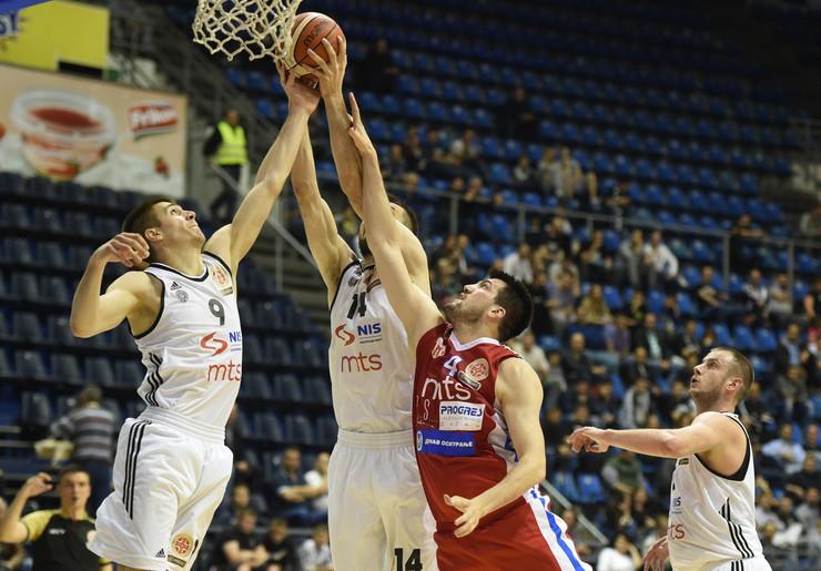 KK Partizan, KK Borac