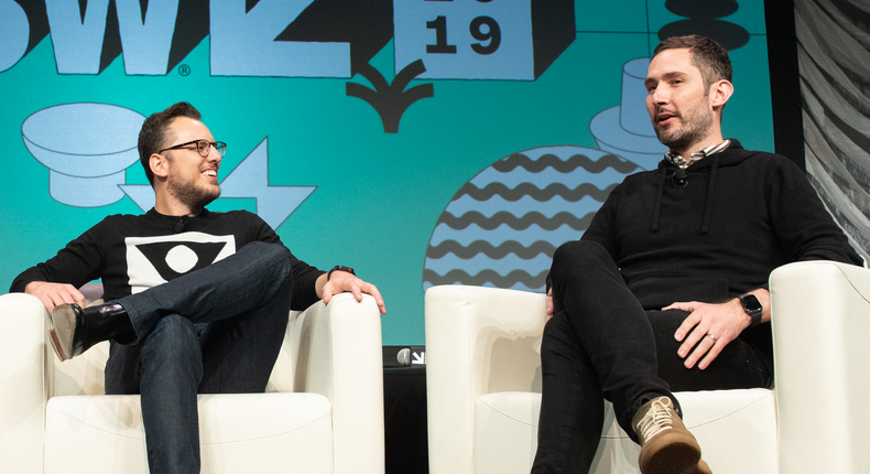 Mike Krieger and Kevin Systrom