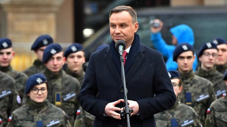 Andrzej Duda w Kamiennej Górze