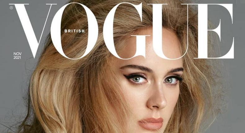 Adele covers British Vogue [adele]