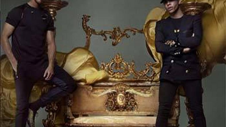 Christiano Ronaldo and Olivier Rousteing for Balmain x NikeLab's 'Football Nouveau' collection