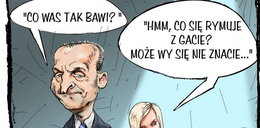 Karykatura Marcinkiewicza