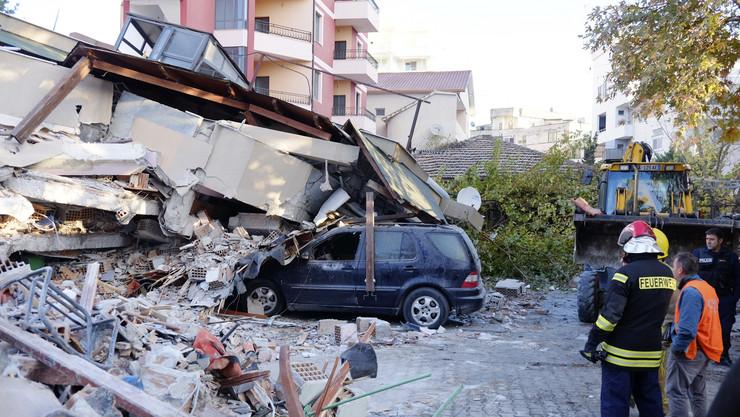 Albanija, zemljotres