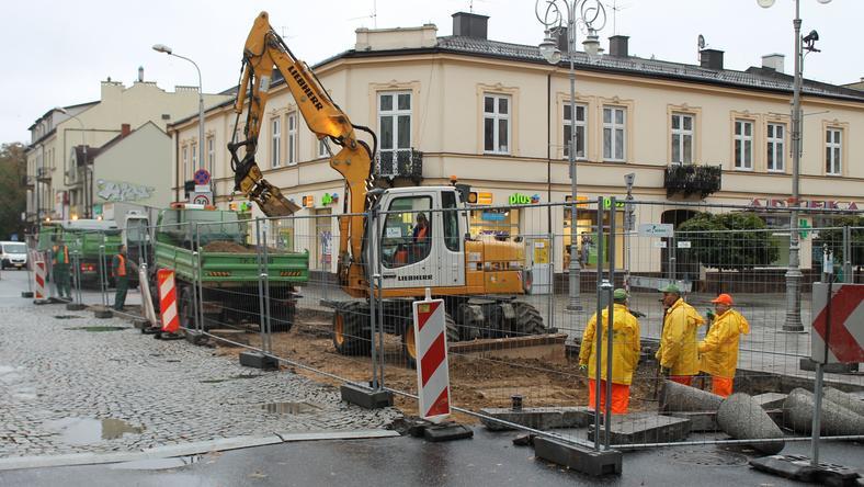Rozpoczęła się ostatnia faza remontu skrzyżowania ulic Sienkiewicza i Paderewskiego