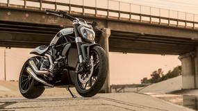 Motocykl Ducati XDiavel przerobiony przez Roland Sands Design