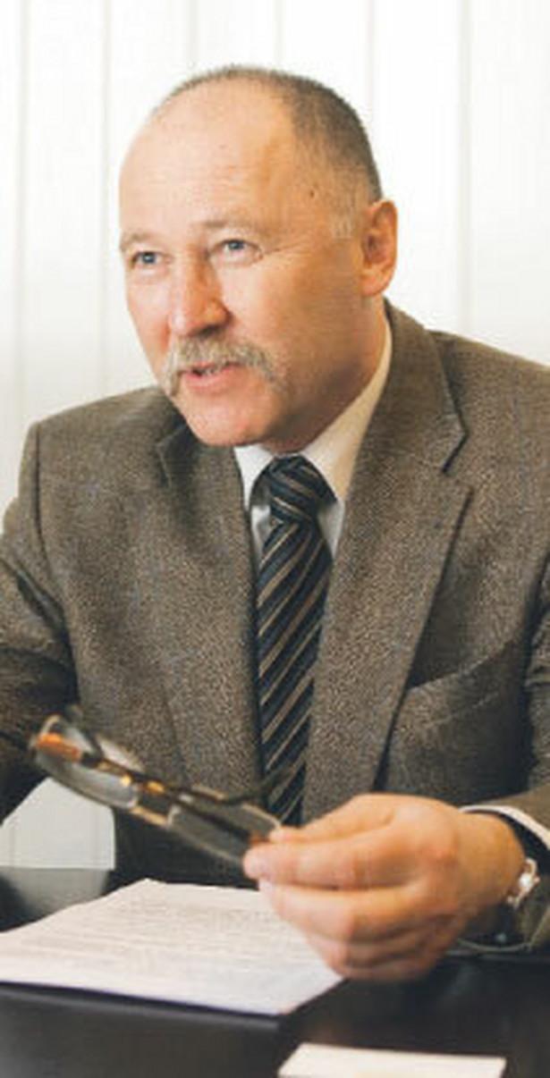 Ziemisław Gintowt, adwokat, dziekan Okręgowej Rady Adwokackiej w Warszawie Fot. Wojciech Górski