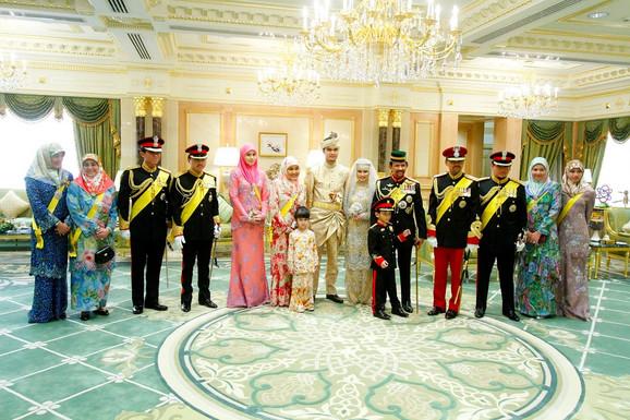 Venčanje jedne od ćerke sultana Bruneja