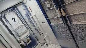 Pasażerowie PKP skarżą się na warunki jazdy. Śnieg zalegał w 2 wagonach