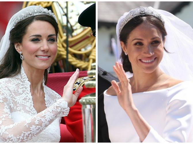 Dooooobro pogledajte venčanicu Megan Markl, pa se prisetite kakvu je nosila Kejt Midlton i recite nam - KOJA JE LEPŠA?