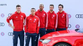 Piłkarze Bayernu Monachium z nowymi samochodami. Który wybrał Robert Lewandowski?