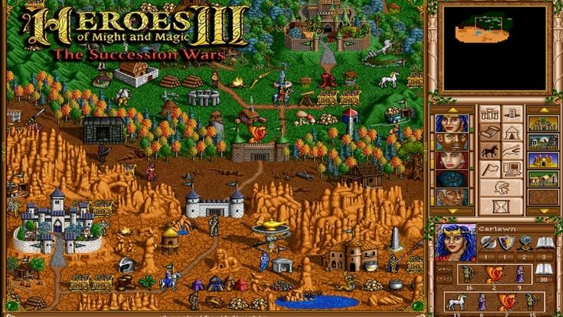 Heroes of Might and Magic III The Succession Wars Mod