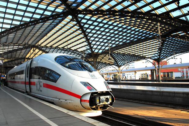 Niemiecki pociąg ICE 3
