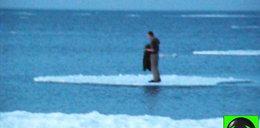 Pijak dryfował na krze po Bałtyku