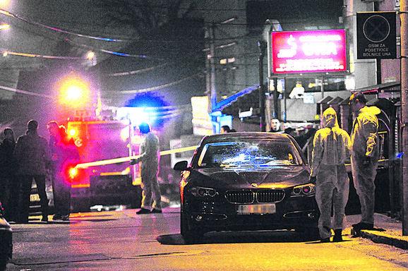 Uviđaj nakon ubistva Blaže Đurovića