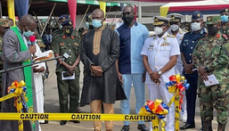 Kennedy Agyapong cuts sod for 37 cardio centre