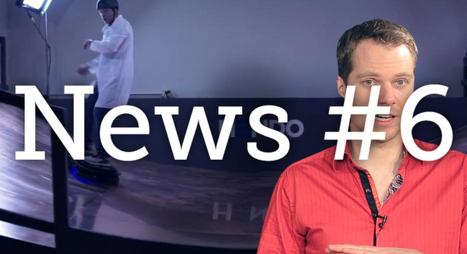 News #6: echtes Hoverboard, Google Inbox, LG Nuclun